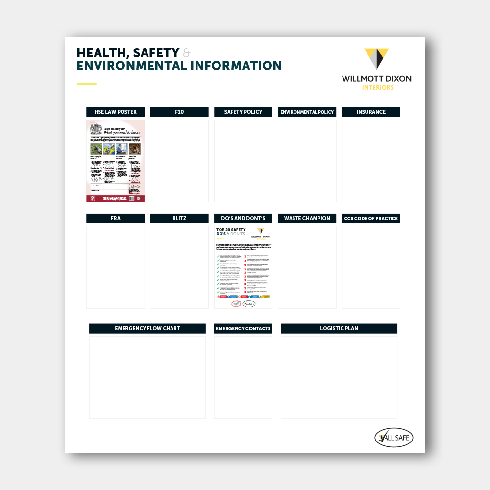 Health, Safety & Environmental Board