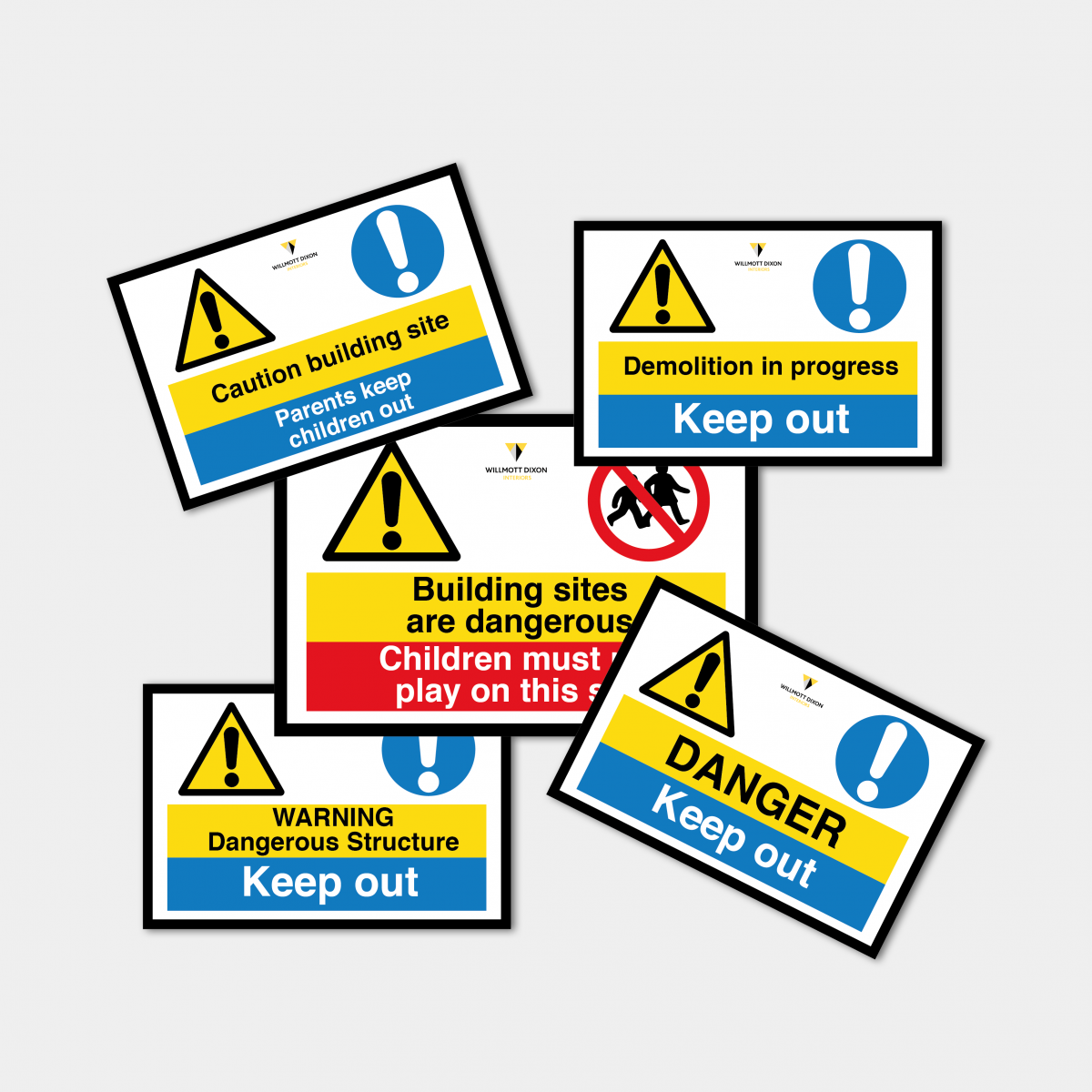 Multi Safety Signs