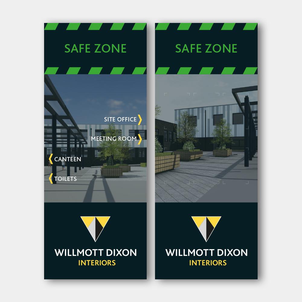 Safe Zone Signage